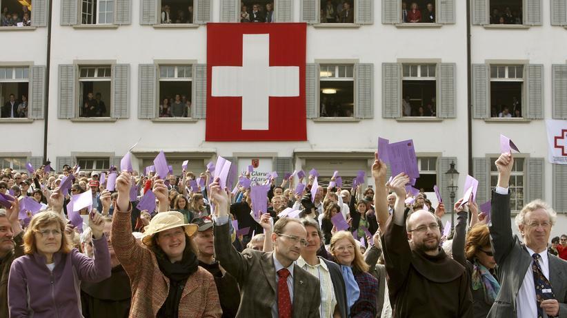Schweiz: Wer regiert die Schweiz?