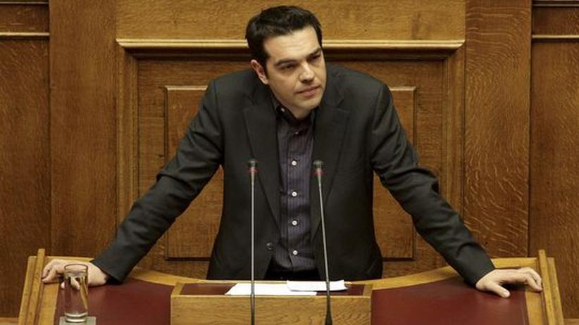 Sparpolitik: Linken-Chef Tsipras schreibt Brandbrief an die EU