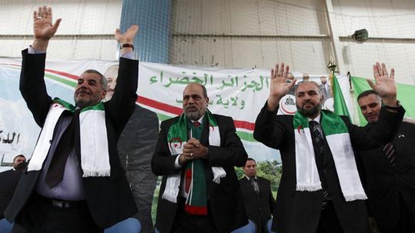 Nordafrika: Islamisten wollen algerische Revolution an den Wahlurnen