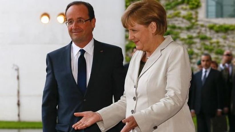 Antrittsbesuch: Frankreich und Deutschland wollen Griechenland im Euro halten