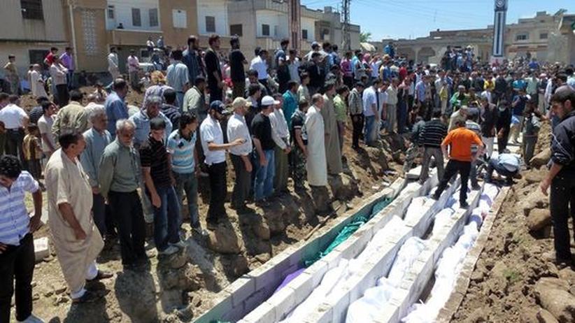 Syrien: Iranische Streitkräfte unterstützen Assad