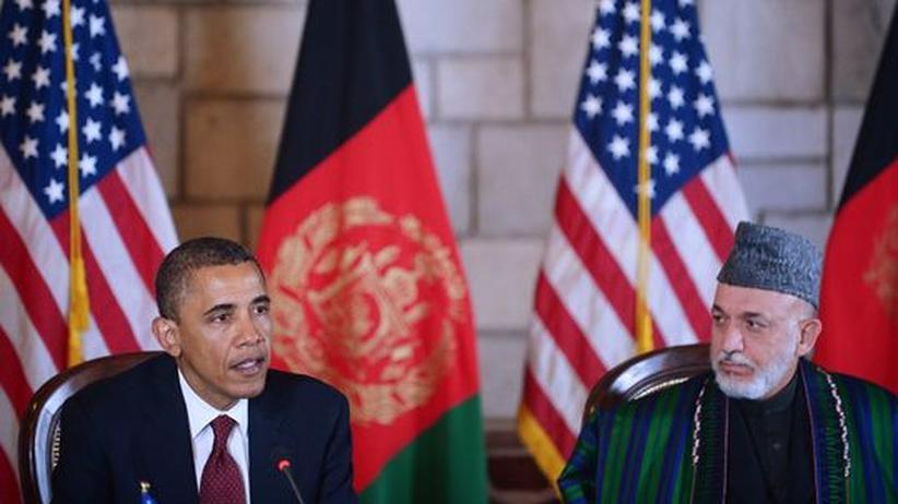 Abkommen: US-Truppen bleiben auch nach 2014 in Afghanistan