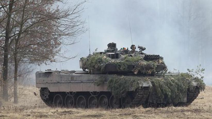 Aufrüstung: Indonesien plant Kauf deutscher Leopard-Kampfpanzer