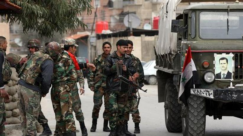 Assad-Regime: Westerwelle fürchtet Flächenbrand um Syrien