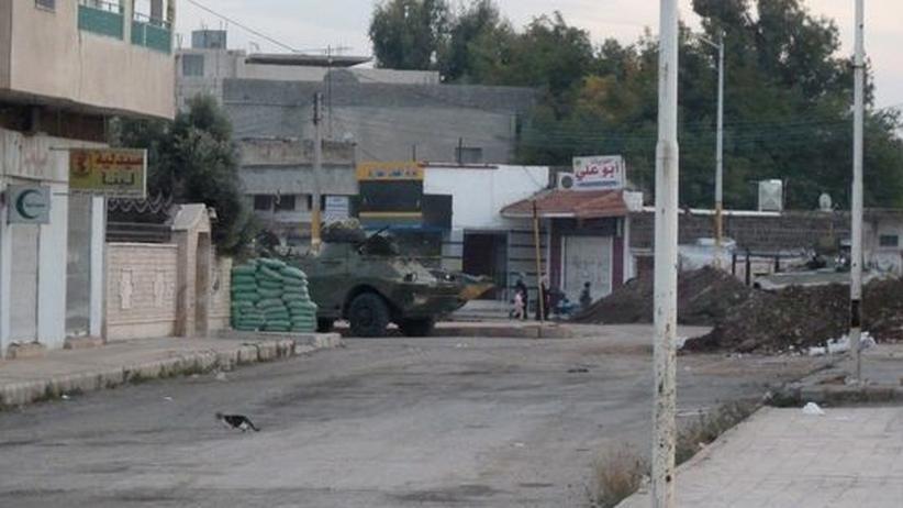 Bürgerkrieg in Syrien: Rebellen erklären Waffenstillstand für gescheitert