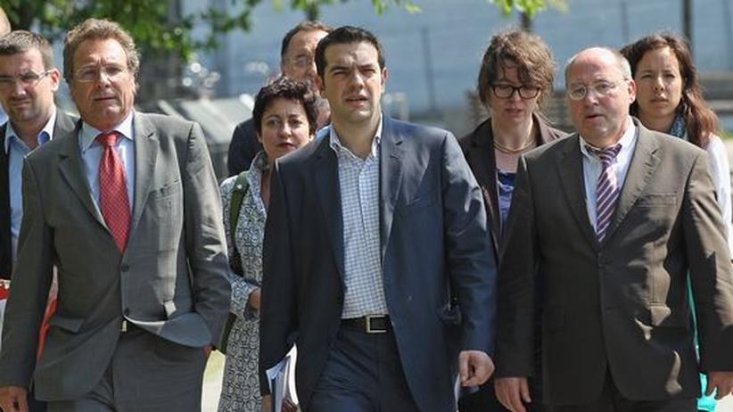 Griechische Linke: Tsipras' verzweifelte Suche nach Verbündeten