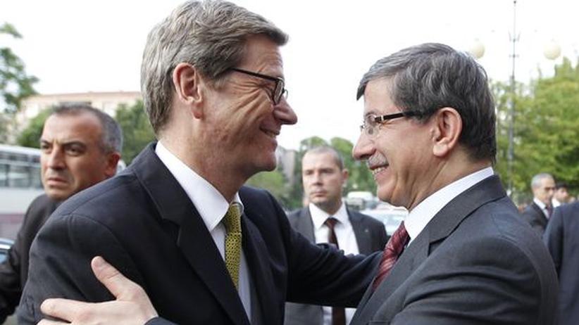 EU-Türkei: Westerwelle pflegt die Türkei-Beziehungen