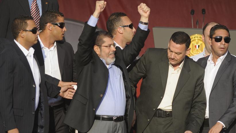 Kairo: Neuer ägyptischer Präsident Mursi legt Amtseid ab
