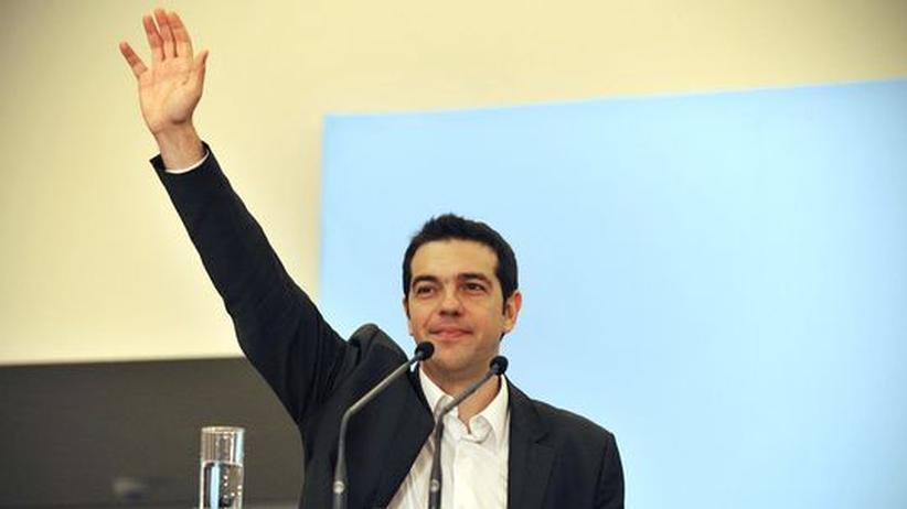 Griechenland: Linken-Chef Tsipras will den Sparpakt mit der EU kippen