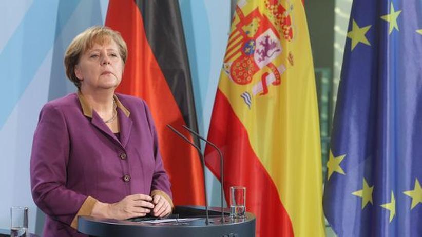 Euro-Krise: Angela Merkel kann Spanien retten