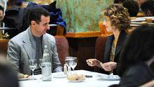 Das syrische Herrscherpaar Baschar und Asma al-Assad in einem Pariser Restaurant