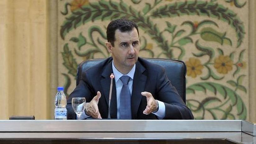 """Präsident Assad: """"Syrien befindet sich im Krieg"""""""