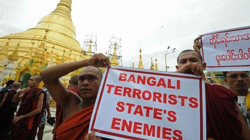 Unruhen: Birma verhängt Kriegsrecht über Teile des Landes