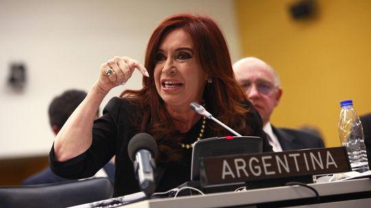 Argentiniens Präsidentin Cristina Fernández de Kirchner vor dem UN-Ausschuss für Entkolonialisierung