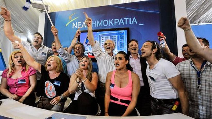 Wahlausgang Griechenland: Europa erwartet nun Stabilität