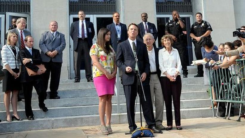 USA: Ex-Präsidentschaftsbewerber John Edwards freigesprochen