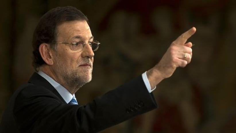 """Rajoy-SMS: """"Spanien ist nicht Uganda"""""""