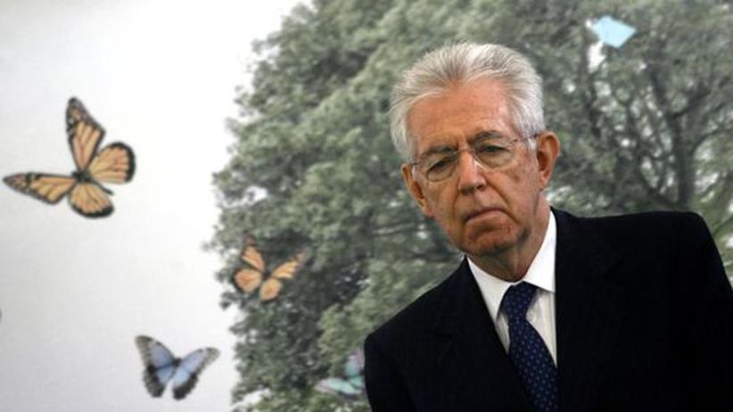 Schuldenkrise: Monti weist Spekulationen über Italien-Hilfen zurück