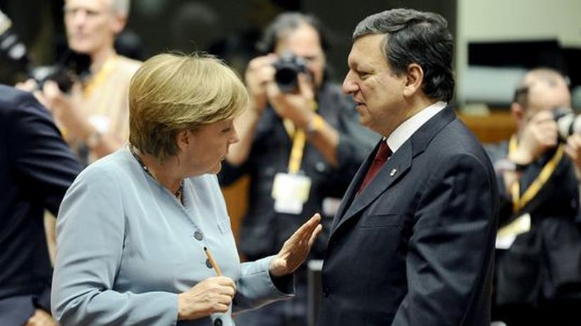 EU-Reformideen: Kanzlerin Angela Merkel und Kommissionspräsident José Manuel Barroso