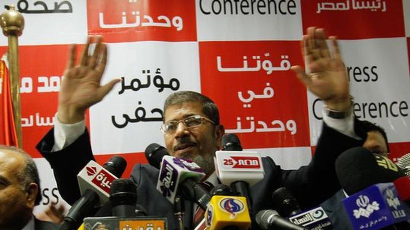 Präsidentschaftswahl Ägypten: Muslimbruder Mursi reklamiert Sieg für sich