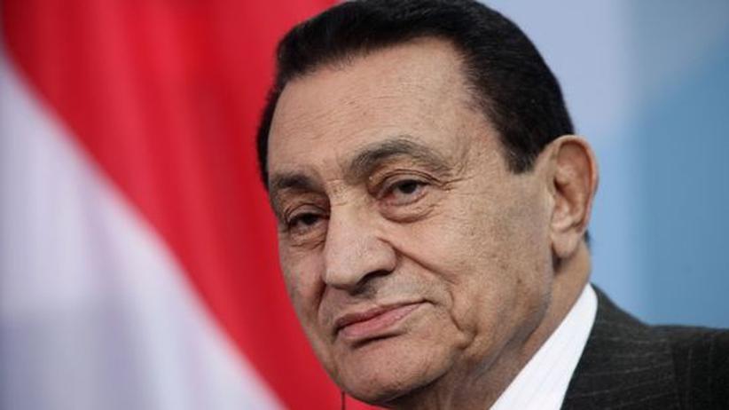 Ägypten: Haft- oder Todesstrafe für Mubarak