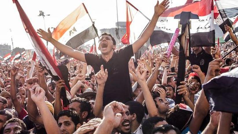 """Wahl in Ägypten: """"Mursi! Mursi! Allah ist groß!"""""""