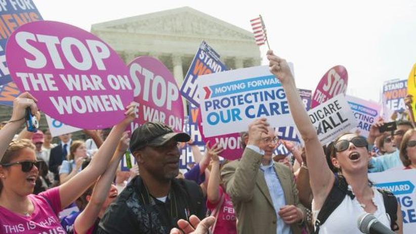 USA: Supreme Court bestätigt Obamas Gesundheitsreform