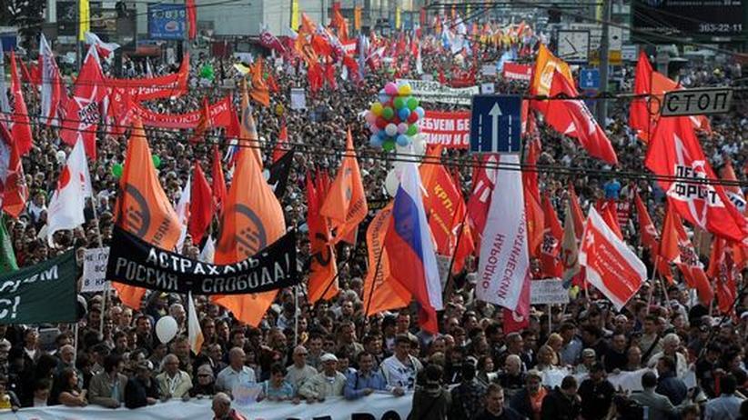 Russland: Putins Menschenrechtsrat fordert Rücknahme des neuen Demonstrationsgesetzes