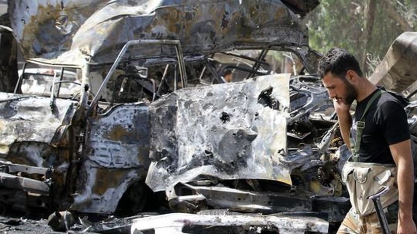 Bürgerkrieg: Der Westen droht an der Gewalt in Syrien zu verzweifeln