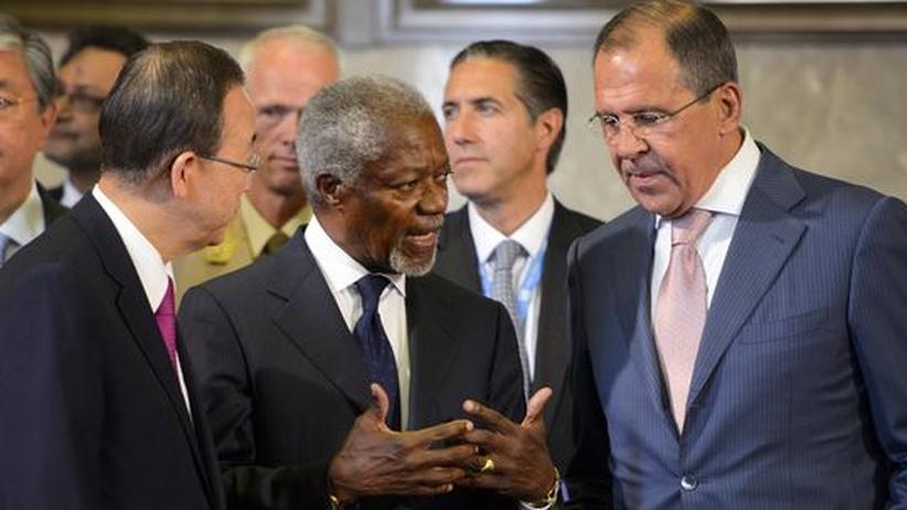 Friedensplan: Syrien-Gipfel befürwortet Übergangsregierung