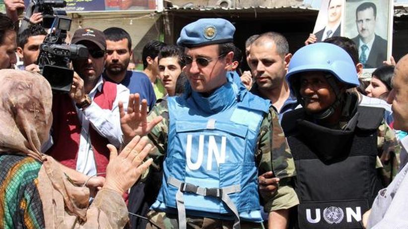 UN-Beobachter: Syrien verweigert Zugang zum Ort des Massakers