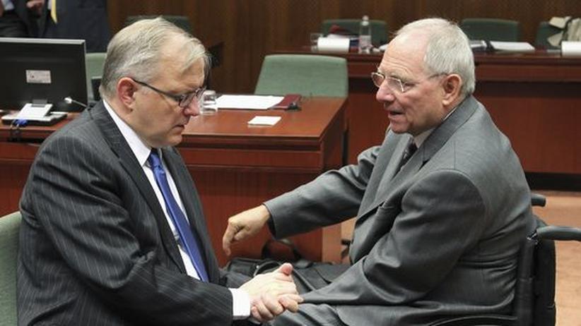 Staatsverschuldung: Schäuble zweifelt am Sparwillen Griechenlands