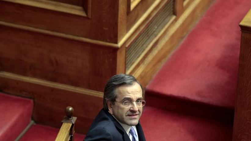 Griechenland:  Samaras verspricht noch härteren Sparkurs