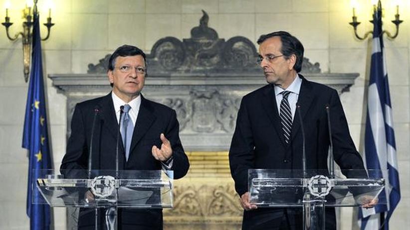 Griechenland: Barroso fordert endlich Ergebnisse von Samaras