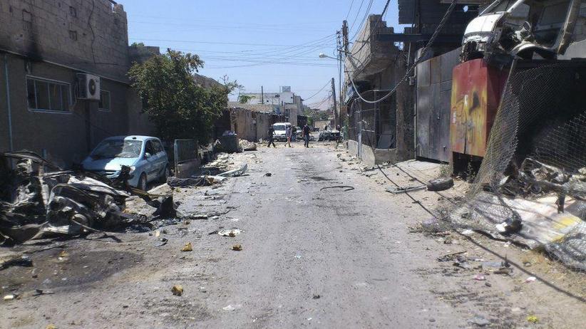 """Syrien: """"Das untergehende Regime schlägt wie ein Monster um sich"""""""