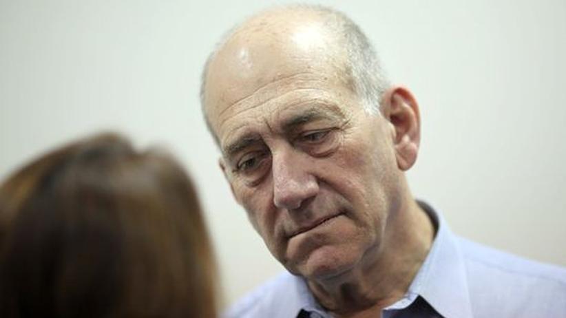 Israel: Ex-Premier Olmert der Untreue schuldig gesprochen