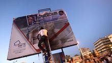 Wahlplakate in Libyen