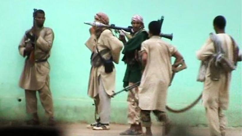 Islamistische Kämpfer in der Stadt Gao im Norden Malis