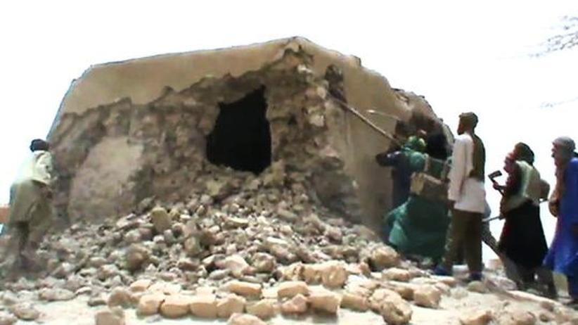 Mali: Islamisten zerstören größte Moschee in Timbuktu