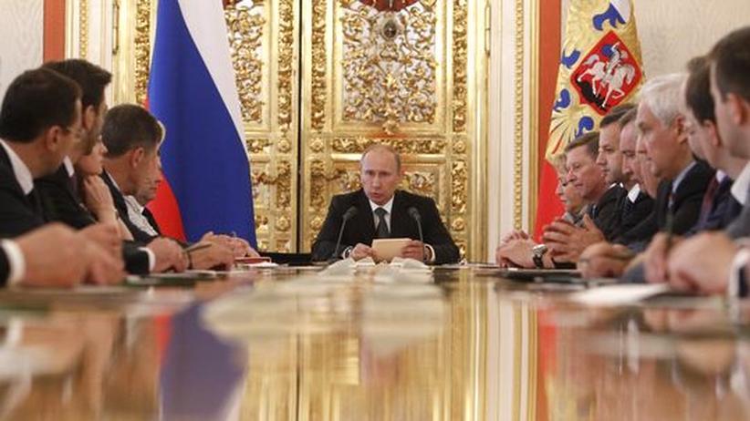 Russland: Putin macht Gesetze gegen das Volk