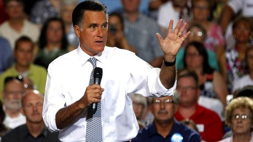 """US-Präsidentschaftskandidat: Romney kündigt """"amerikanisches Jahrhundert"""" an"""