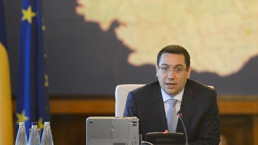 Rumänien: Rumäniens Premier Victor Ponta
