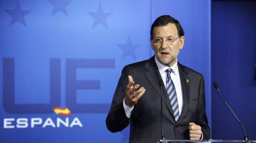 Euro-Krise: Spaniens Regierungschef will 65 Milliarden einsparen