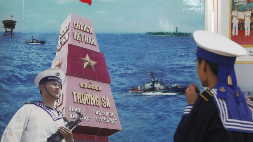 Südchinesisches Meer: China demonstriert seine Macht mit einem Fischerdorf