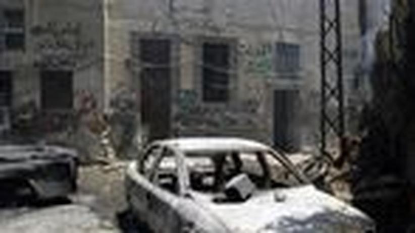 Bürgerkrieg: Wie der Westen den Syrien-Konflikt verschärft