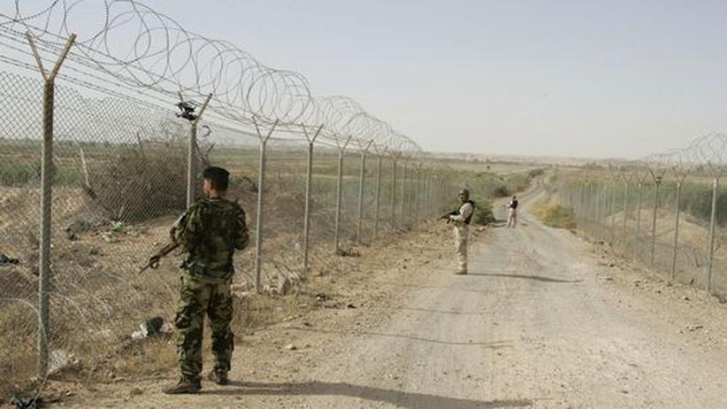 Bürgerkrieg: Syrische Rebellen kontrollieren Grenze zum Irak