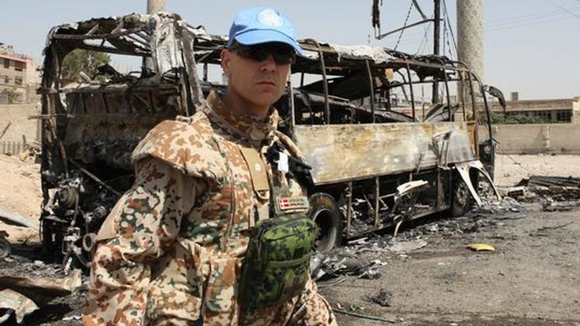 Syrien: UN-Beobachter untersuchen Massaker