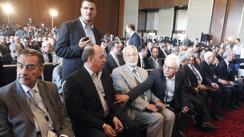 Assad-Gegner: Treffen der syrischen Opposition endet im Chaos