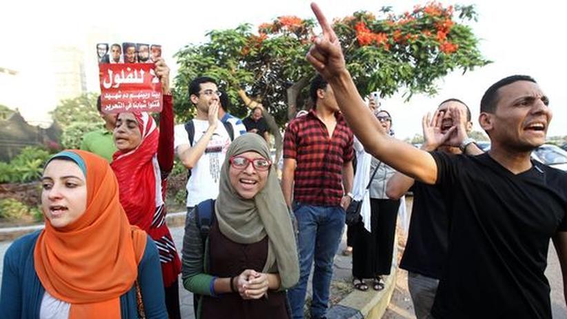 Aktivisten in Kairo
