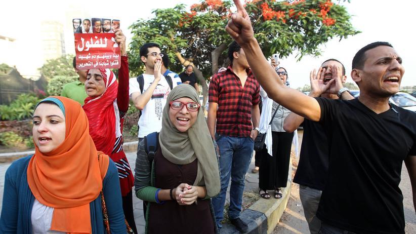 """Arabische Revolution: """"Wir sind noch da, wenn die tot sind"""""""